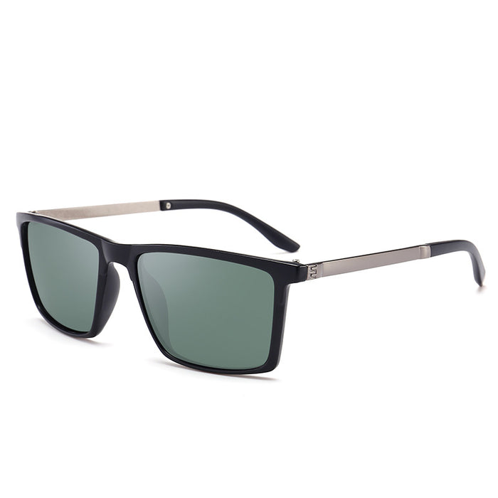 6cd5113decc1 VCKA Brand Ultra-light Polarized Lens Sunglasses Men Vintage Square Sun  glasses Male Driving Safety