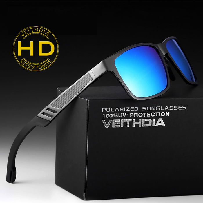 VEITHDIA Brand Designer Aluminum Sunglasses Polarized Lens Men Sun Glasses Mirror Male Eyewears Accessories Oculos de grau 6560