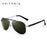 VEITHDIA Brand Designer Polarizerd Sunglasses Men Glass Mirror Green Lense Vintage Sun Glasses Eyewear Accessories Oculos 3152