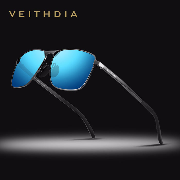 10daf51e4e3 VEITHDIA Brand Men s Vintage Sunglasses Polarized UV400 Lens Eyewear  Accessories Male Sun Glasses For Men