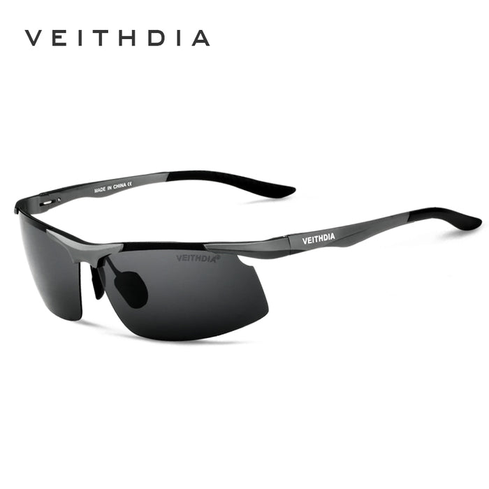 VEITHDIA New Arrive Sunglasses Men's Polarized With Original Box Sun Glasses Eyewear Accessories Oculos de Sol Masculino 6535