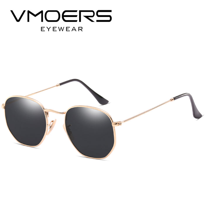 VMOERS Luxury Brand Sunglasses Men Vintage Small Shades Male Oculos de sol masculino Oval Retro Sun Glasses For Men Lunette
