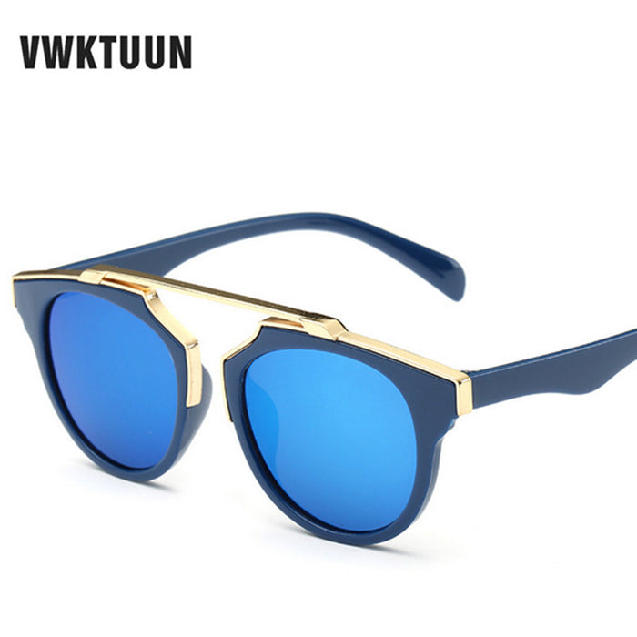 VWKTUUN Brand Designer Kids Sunglasses Children Sun Glasses Baby Sun-shading Eyeglasses UV400 Outdoor Party Boys GirlsDecoration