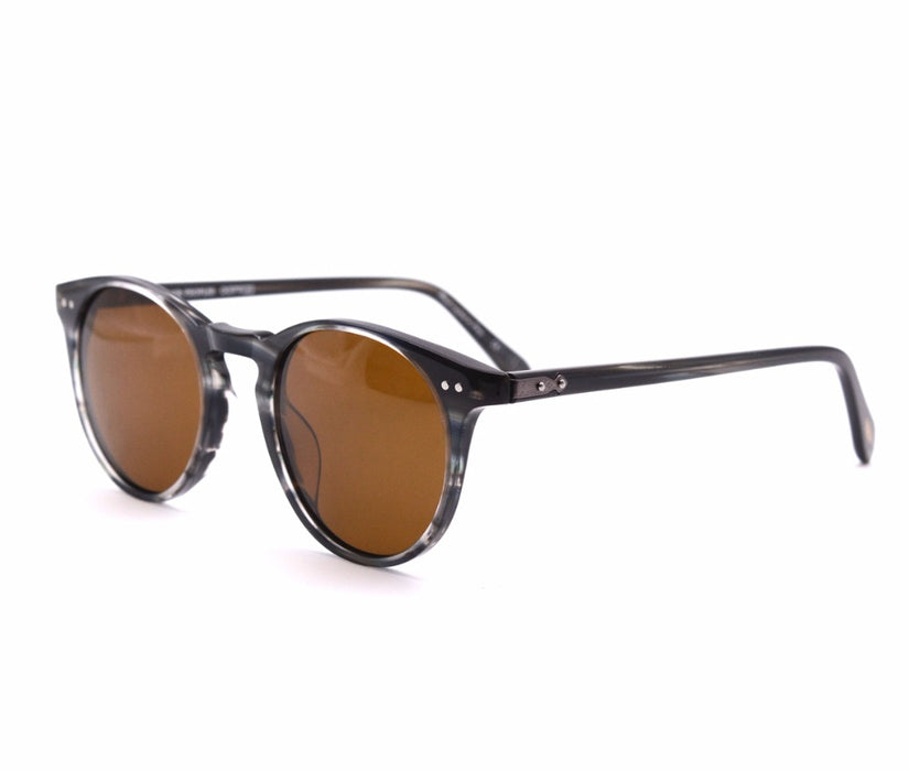 Vintage designer brand Men's ov5256 Sir O 'malley polarized sunglasses Retro Male Driving Outdoor Women Sun Glasses With Case