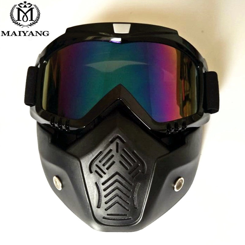 c11a61fe1bfd Winter Outdoor Ski Goggles With Anti-fog Big Ski Mask Glasses Skiing Men  Women Snow
