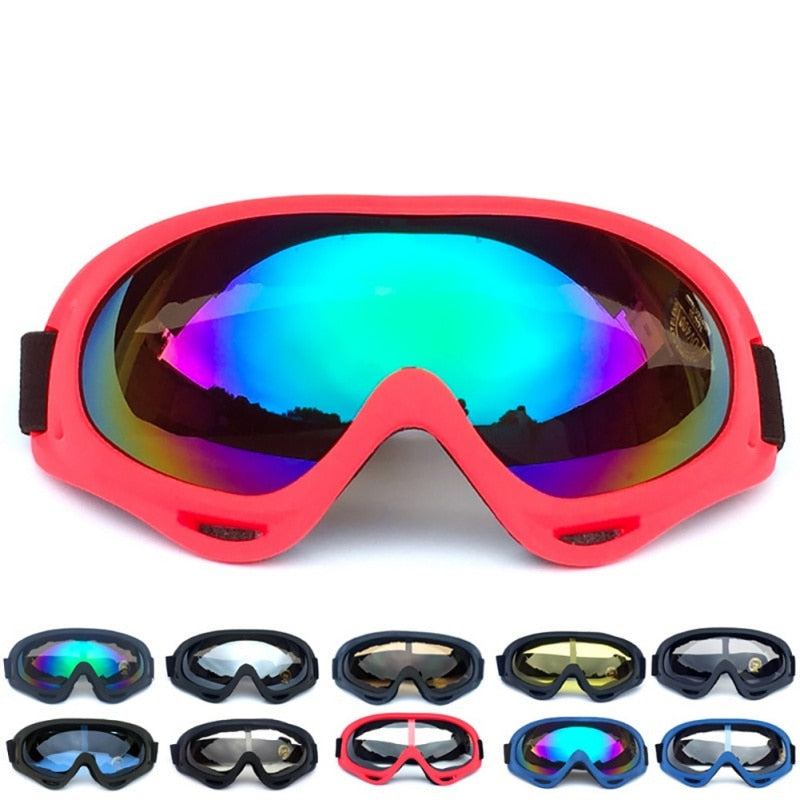 ff9b83d1734c69 Winter Ski Goggles Snow Snowboard Goggles Anti-fog Big Ski Mask Glasses UV  Protection For
