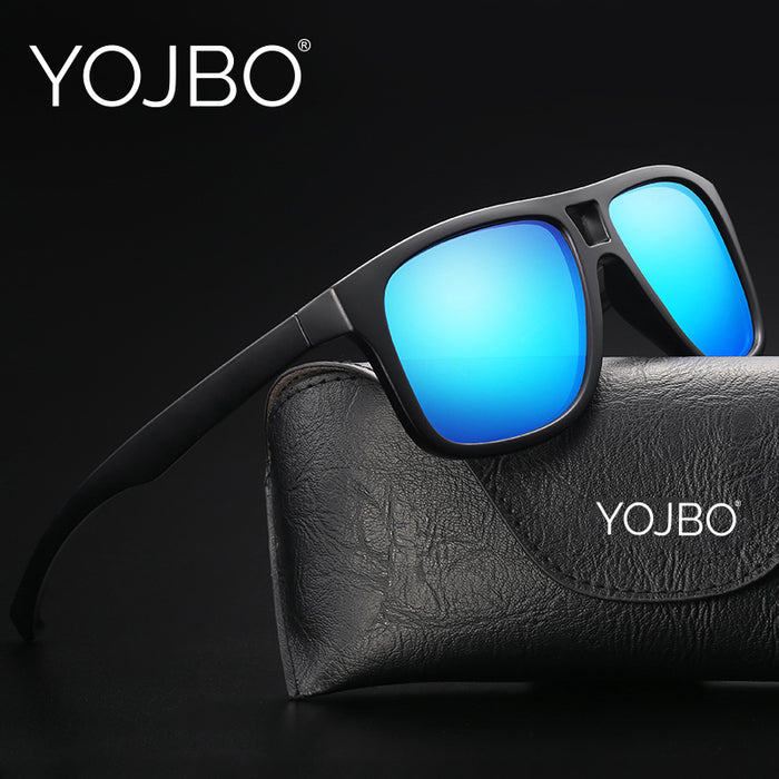YOJBO Luxury Women Men Sunglasses Polarized Vintage Retro High Quality Brand Designer Sun Glasses Ladies Mirrored Eyewear