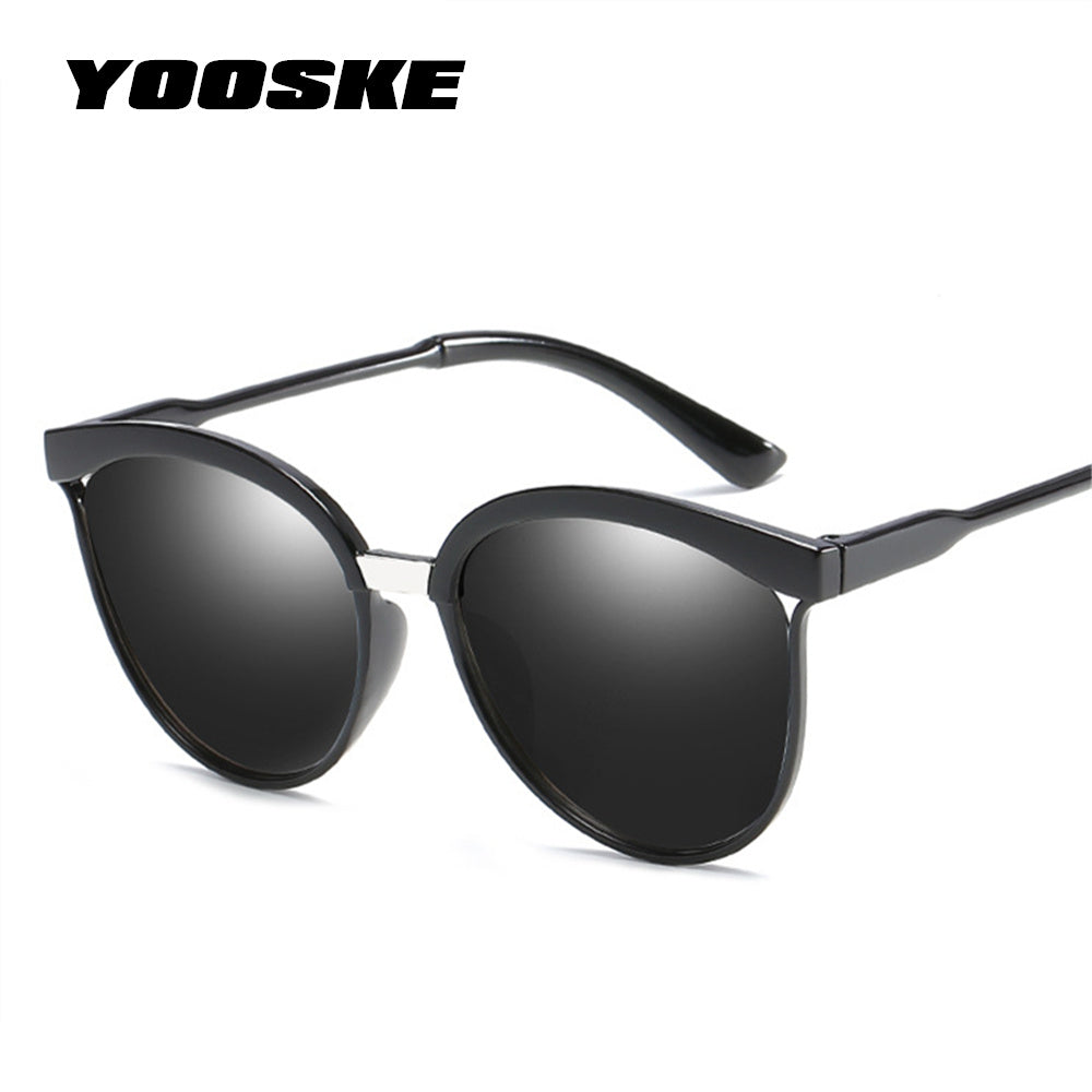 2973b5dac3b5 YOOSKE Cat Eye Sunglasses Women Men Vintage Mirror Sunglass Womens Brand Designer  Retro Sun Glasses Goggles