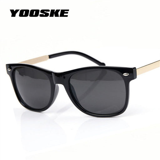 ba4b0f9a03f6 YOOSKE Vintage Men Sunglasses Women Male Female Sun Glasses Fashion Classic  Rice spike Sunglass Goggles Shades