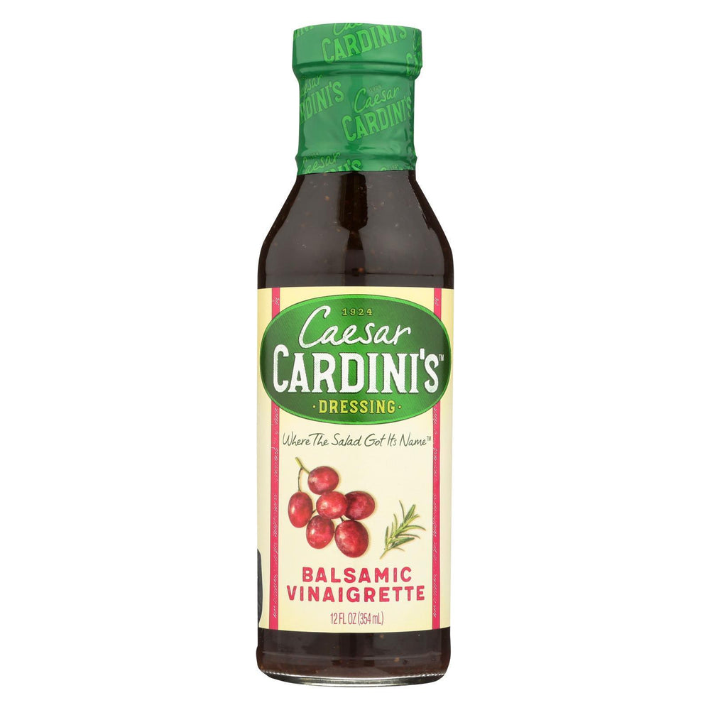 Cardini'S Dressing - Balsamic Vinaigrette - Case Of 6 - 12 Fl Oz-Eco-Friendly Home & Grocery-Cardini's-EpicWorldStore.com