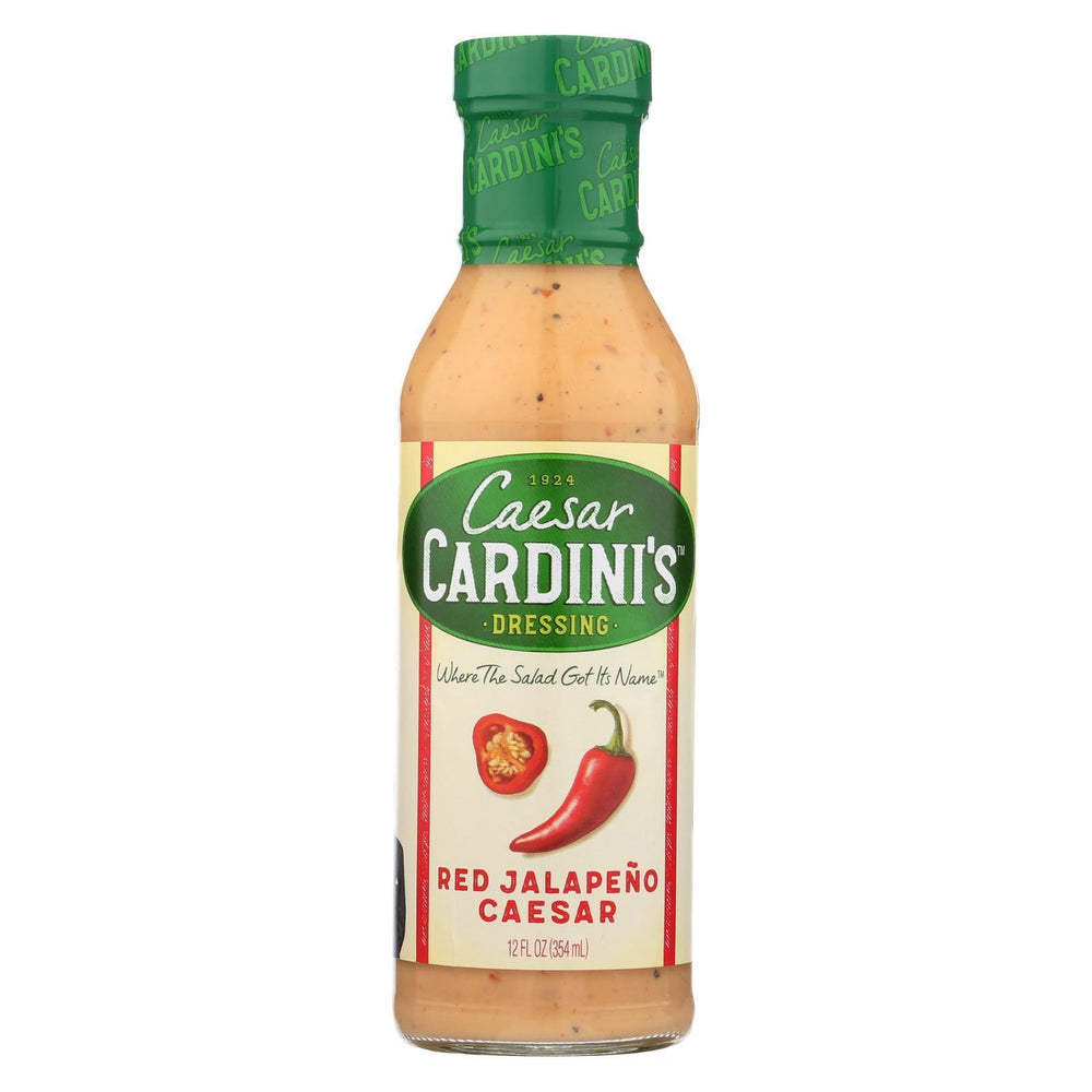 Cardini'S - Dressing - Red Jalapeno Caesar - Case Of 6 - 12 Fl Oz.-Eco-Friendly Home & Grocery-Cardini's-EpicWorldStore.com