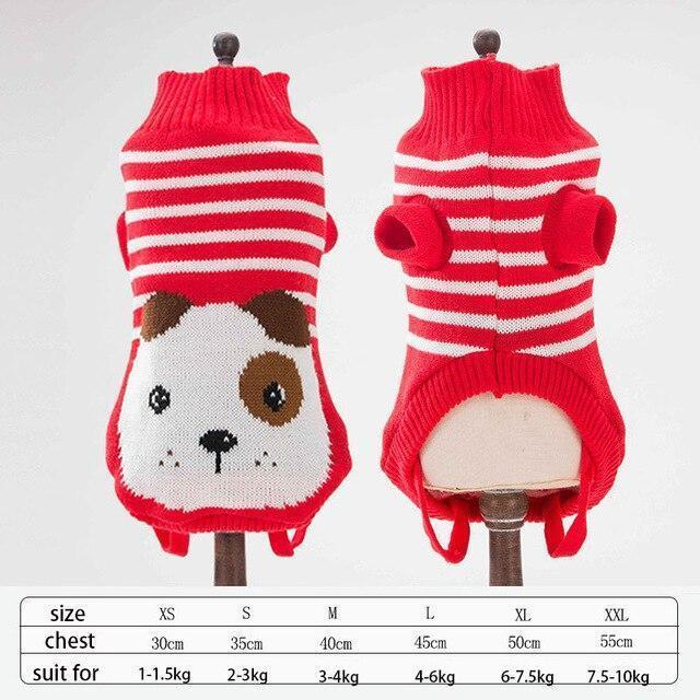 Cute Animal Winter Dress For Dog Pet Dog Clothes Medium Sweater Dog Puppy Clothing Autumn Fashion-Home-Daily Comfort Store-dog-XS-EpicWorldStore.com