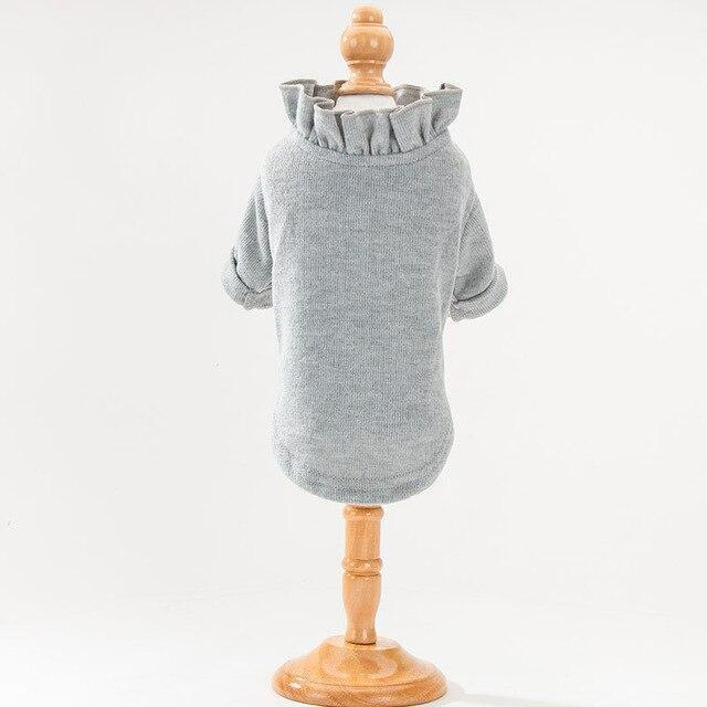 Cute Animal Winter Dress For Dog Pet Dog Clothes Medium Sweater Dog Puppy Clothing Autumn Fashion-Home-Daily Comfort Store-Light Grey-XS-EpicWorldStore.com