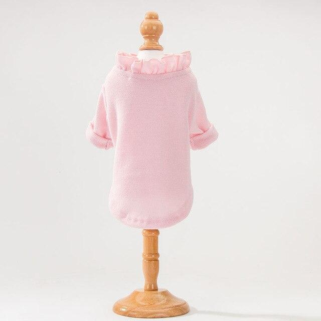 Cute Animal Winter Dress For Dog Pet Dog Clothes Medium Sweater Dog Puppy Clothing Autumn Fashion-Home-Daily Comfort Store-PINK2-XS-EpicWorldStore.com