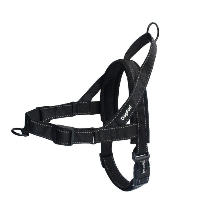 Dog Harness Easy On And Off Adjustable Medium Large Dogs,Reflective No Pull Training Vest For Pet-Harnesses-DogFad Official Store-Black-S-EpicWorldStore.com
