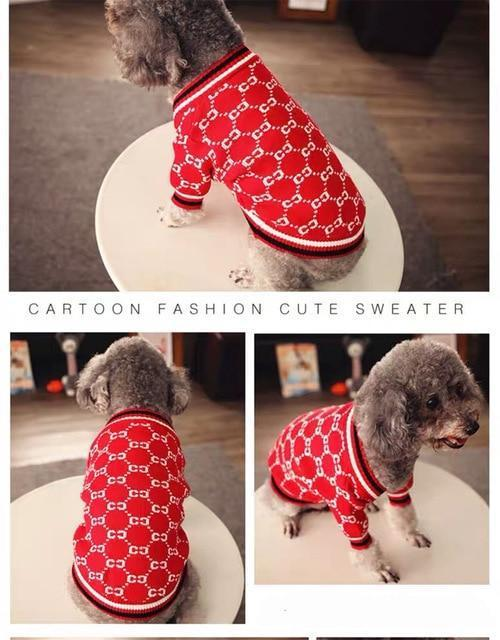 Dog Sweater Dog Sweaters For Small Dogs Dog Sweater Christmas Thanksgiving Dog Sweaters Cat-Home-PETSANDKIDS Store-as picture-XXS-EpicWorldStore.com