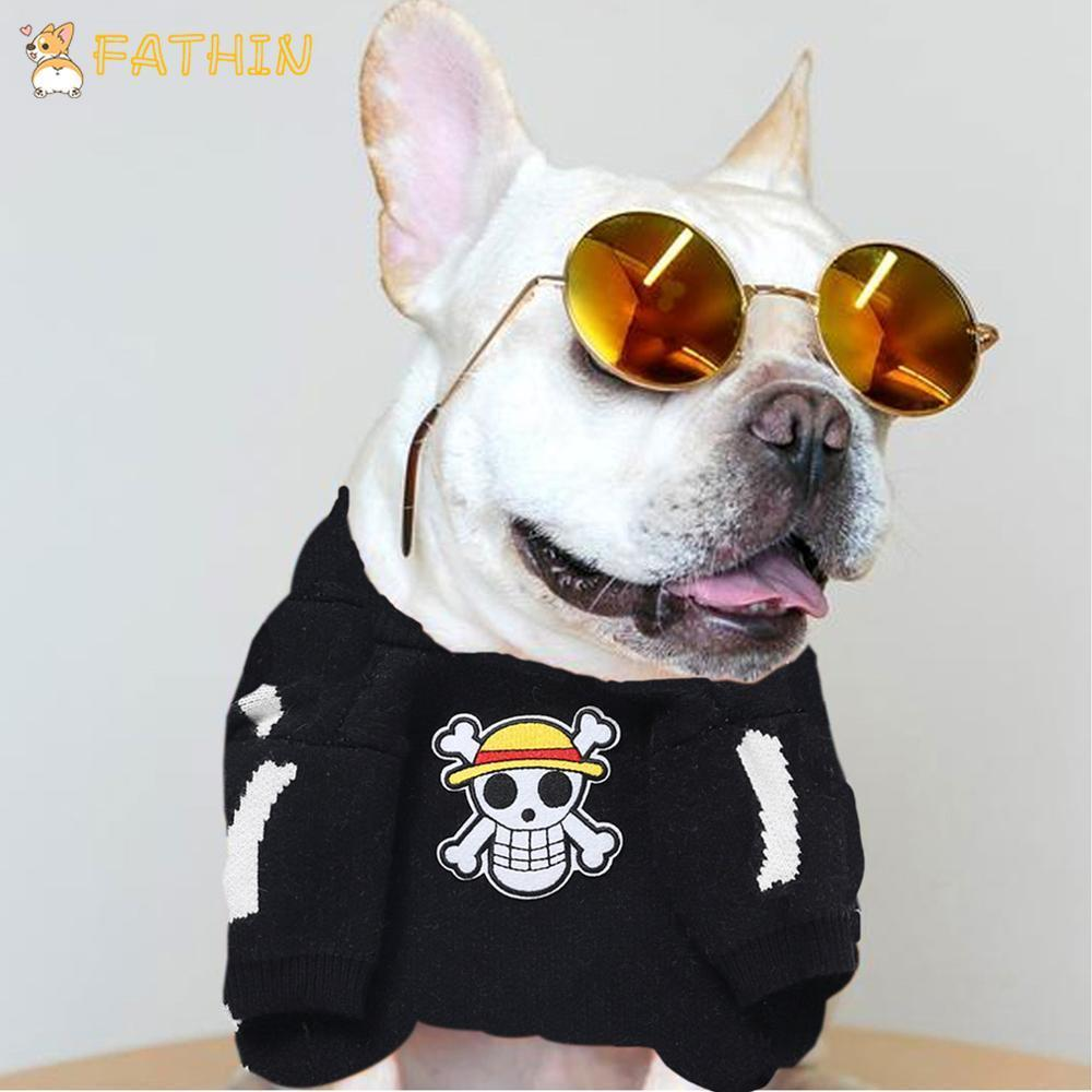 Fathin Halloween Dog Sweater For Schnauzer Bulldog Puppy Warm Clothes S Xl On Aliexpress-Home-Fathin Store-Black-S-EpicWorldStore.com
