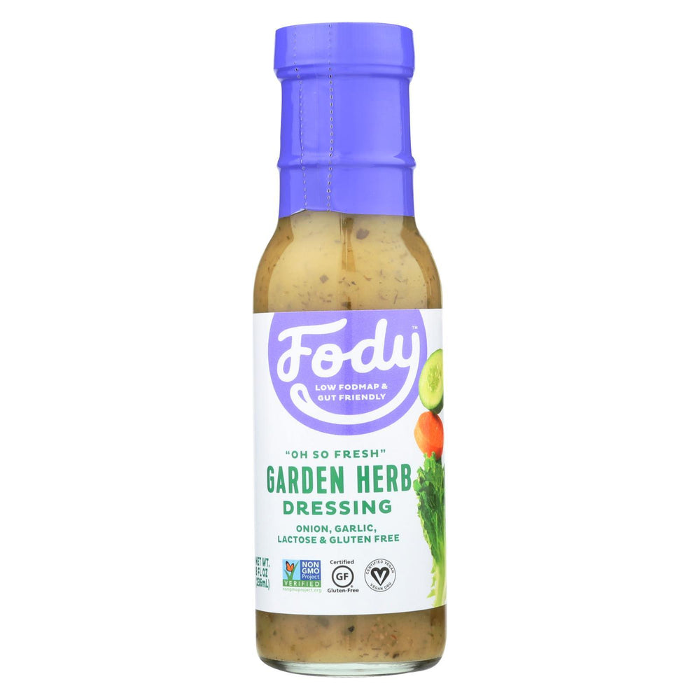 Fody Food Company - Dressing.Salad Grdn Herb - Case Of 6 - 8 Fz-Eco-Friendly Home & Grocery-Fody Food Co.-EpicWorldStore.com