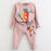 Girls Clothing Sets 2020 Autumn Spring Toddler Girls Clothes Outfit Kids Tracksuit For Girl Suit-Clothing Sets-LZH Official Store-Pink-3T-EpicWorldStore.com