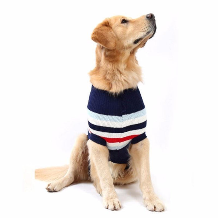 Hot Fashion Comfortable Xs 4Xl Large Pet Dog Sweater Cute Dog Clothes In Winter Big Dog Clothes-Dog Sweaters-Pething Mall-Red-XS-EpicWorldStore.com