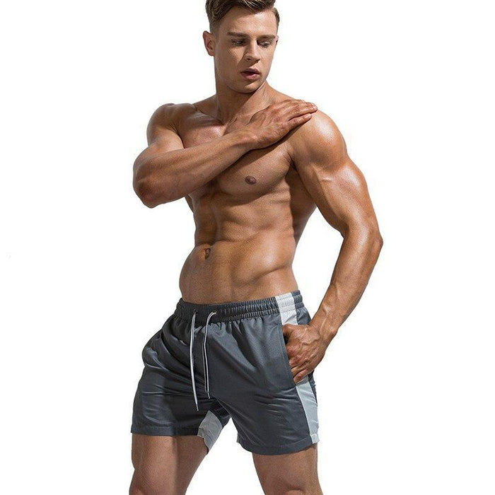 Mens Shorts Beach Summer Fashion Male Elastic Board Shorts Quick Dry Swimwear Surf Bermuda-Board Shorts-DK Man Store-Black-M-EpicWorldStore.com