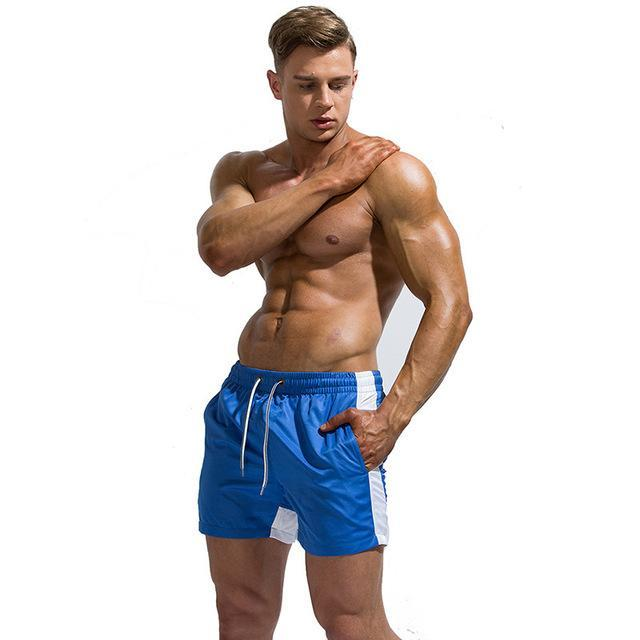 Mens Shorts Beach Summer Fashion Male Elastic Board Shorts Quick Dry Swimwear Surf Bermuda-Board Shorts-DK Man Store-Blue-M-EpicWorldStore.com