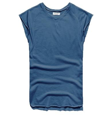 Mens Sleeveless Knitwear Sleeveless Undershirt Wide Shoulder Vest Bodybuilding Tank Top Men-Tank Tops-MIX MAN Store-color blue-S-EpicWorldStore.com