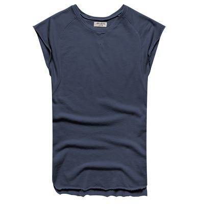 Mens Sleeveless Knitwear Sleeveless Undershirt Wide Shoulder Vest Bodybuilding Tank Top Men-Tank Tops-MIX MAN Store-royal blue-S-EpicWorldStore.com
