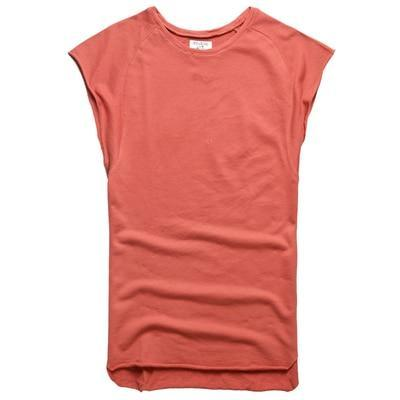 Mens Sleeveless Knitwear Sleeveless Undershirt Wide Shoulder Vest Bodybuilding Tank Top Men-Tank Tops-MIX MAN Store-rusty red-S-EpicWorldStore.com