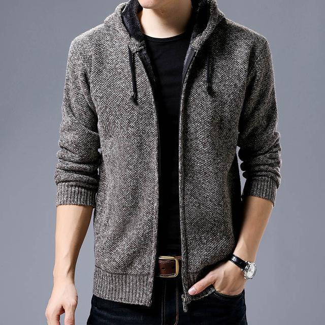 New Fashion Brand Clothing Jacket Men Casual Mens Solid Color Autumn Jacket Mens Coats Casual-Jackets-LANGBEEYAR Official Store-Camel-M-EpicWorldStore.com