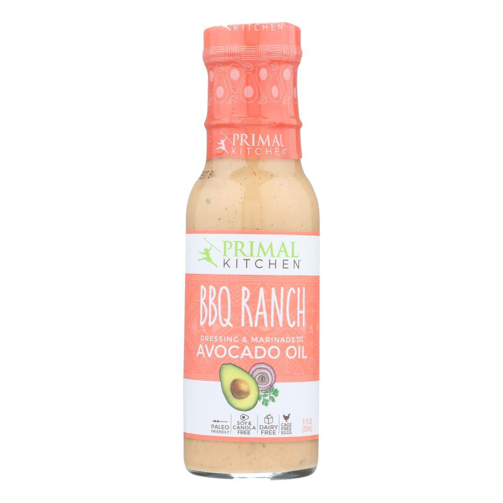 Primal Kitchen - Dressing Bbq Ranch Avo Oil - Case Of 6 - 8 Fz-Eco-Friendly Home & Grocery-Primal Kitchen-EpicWorldStore.com
