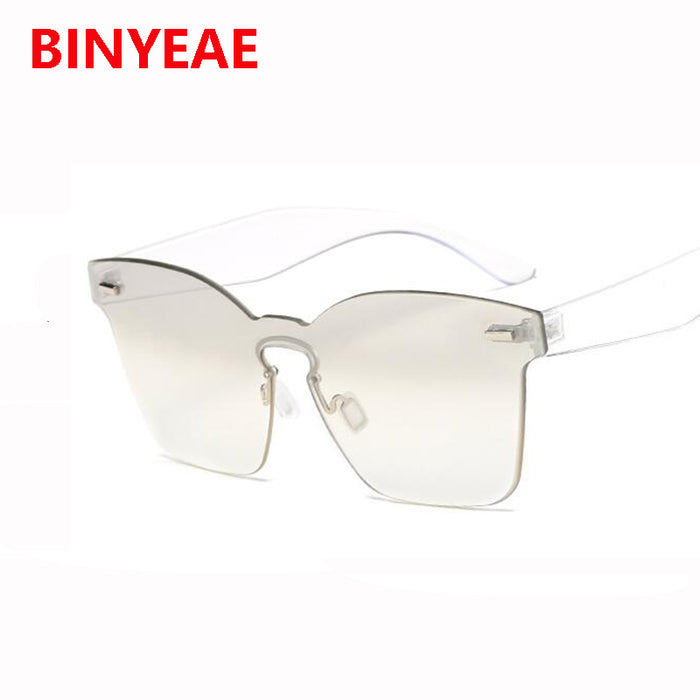 7a04d4b6aa rimless plastic pink sunglasses women vintage shades shield square sun  glasses for men 2018 new trendy