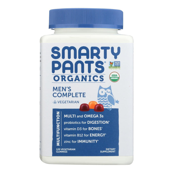 Smartypants - Gummy Vitamin Mens Cmplte - 1 Each - 120 Ct-Eco-Friendly Home & Grocery-Smartypants-EpicWorldStore.com