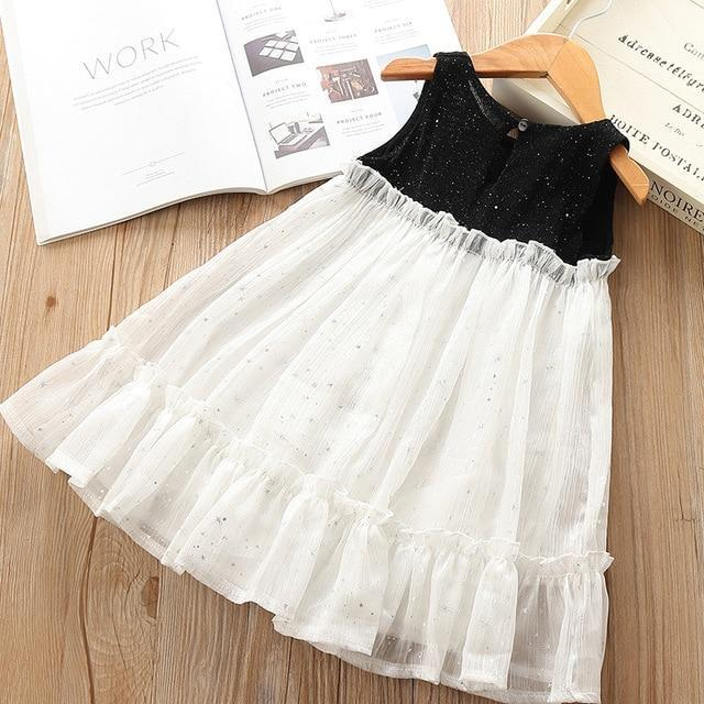 Sodawn Spring Summer Childrens Clothing Baby Girl Princess Dress Lace Short Sleeve Flower-Dresses-Sodawn Store-BN087-White-2T-EpicWorldStore.com