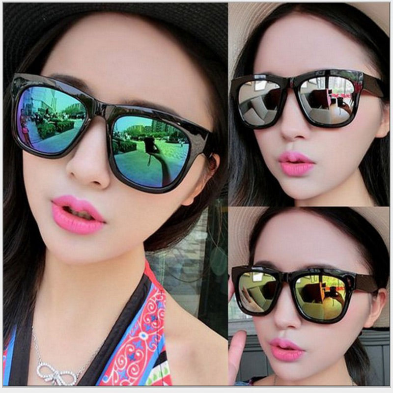 sunglases Big ungss Frame Sunglasses Women Fashion Sun glasses for womens sungglass Trends Black glasses