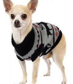 Sz Xs Xxl Free Ship Autumn Winter Various Lovely Puppy Pet Cat Dog Sweater Knitted Coat Apparel-Dog Sweaters-Petalk Store-Black Deer-XS Chest28cmBack17-EpicWorldStore.com