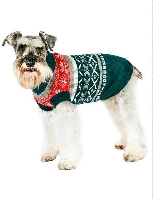 Sz Xs Xxl Free Ship Autumn Winter Various Lovely Puppy Pet Cat Dog Sweater Knitted Coat Apparel-Dog Sweaters-Petalk Store-Green Leaf-XS Chest28cmBack17-EpicWorldStore.com