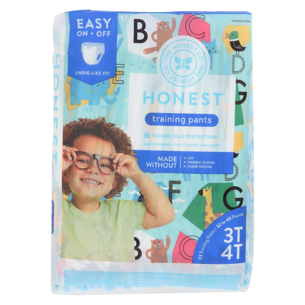 The Honest Company - Training Pants Abc 3T-4T - 1 Each - 23 Ct-Eco-Friendly Home & Grocery-The Honest Company-EpicWorldStore.com