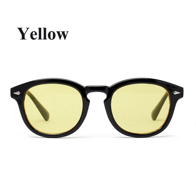 Johnny Depp Superstar Sunglasses Man Hot New fashion vintage Rivets Eyeglass women brand Sun glasses gafas oculos de sol