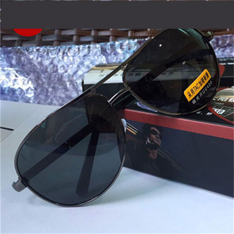 RILIXES Night Vision Chameleon Sunglasses Men Polarized Driving Sun Glasses Aviation Photochromic Glasses Driver Safety Goggles