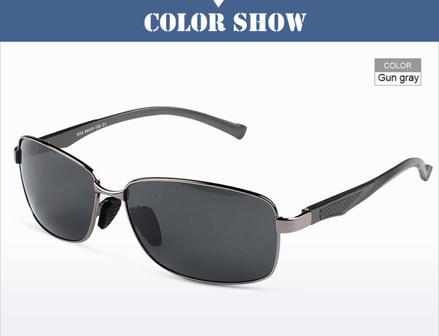 Aluminum Magnesium Alloy Men Sunglasses Polarized Lens Driver Mirror Sun Glasses Male Eyewears oculos de sol masculino RE7755