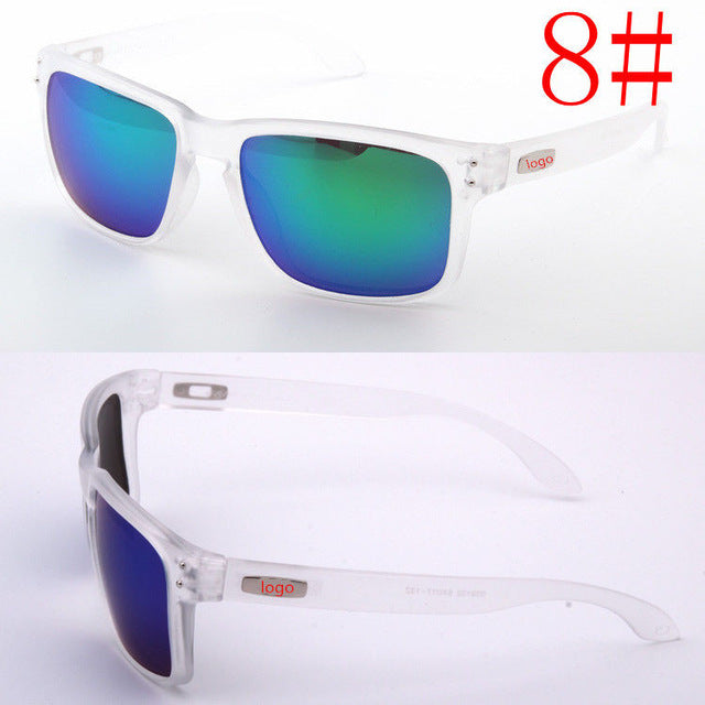 Brand Designer Driving Sunglasses Men Sun glasses for Men Reflective Goggles High Quality Sunglasses UV400 oculos d