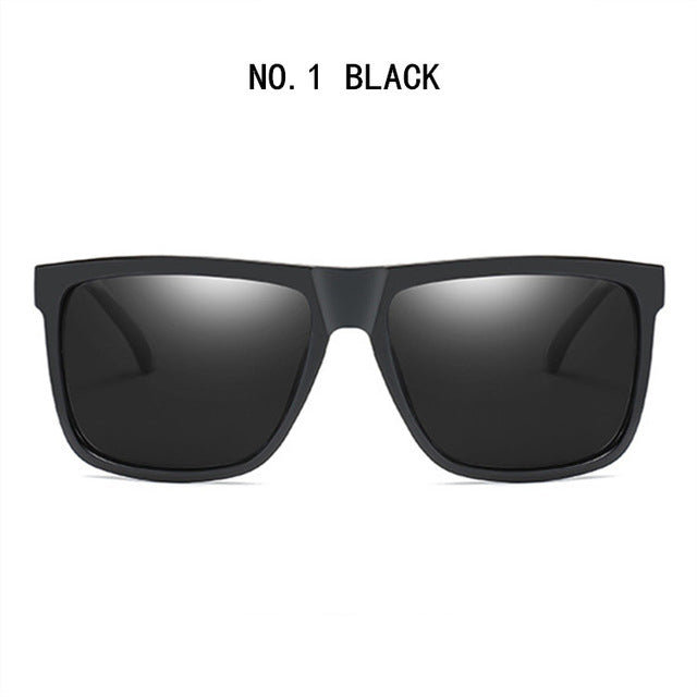UVLAIK Polarized Sunglasses Men Driving Metal HD Sun Glasses Polaroid UV400 Sunglass Eyewear Goggles
