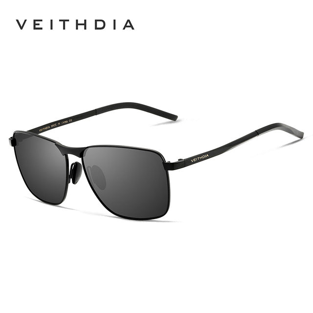 VEITHDIA Brand Men's Vintage Sunglasses Polarized UV400 Lens Eyewear Accessories Male Sun Glasses For Men/Women gafas VT2462