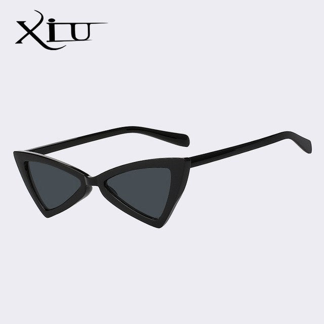 XIU Butterfly Elegant Women Sunglasses Sexy Brand Designer Sun glasses Retro Vintage Glasses Female Top Quality UV400