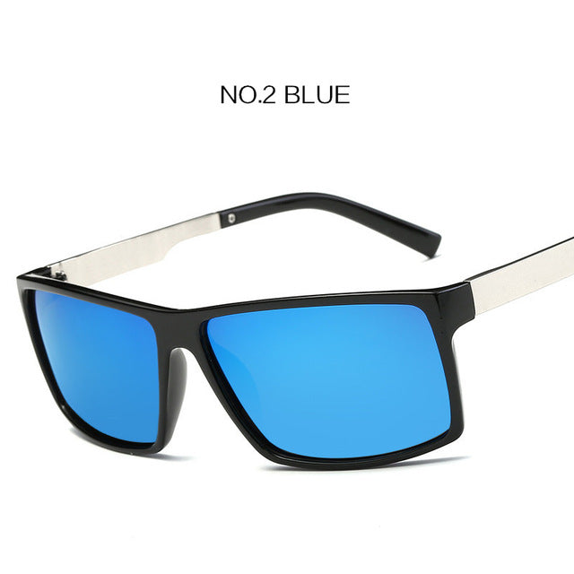 UVLAIK TAC Lens Polarized Sunglasses Men Retro Fashion Driver Sun Glasses Mens Safety Protect Driving Sunglasses HD UV400