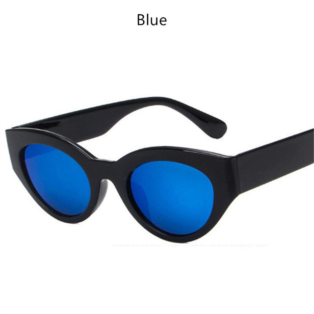 81741b649ab3 YOOSKE Oval Sunglasses Brand Designer Men Women Sun Glasses Vintage Male  Female Cat Eye Fashion Glasses