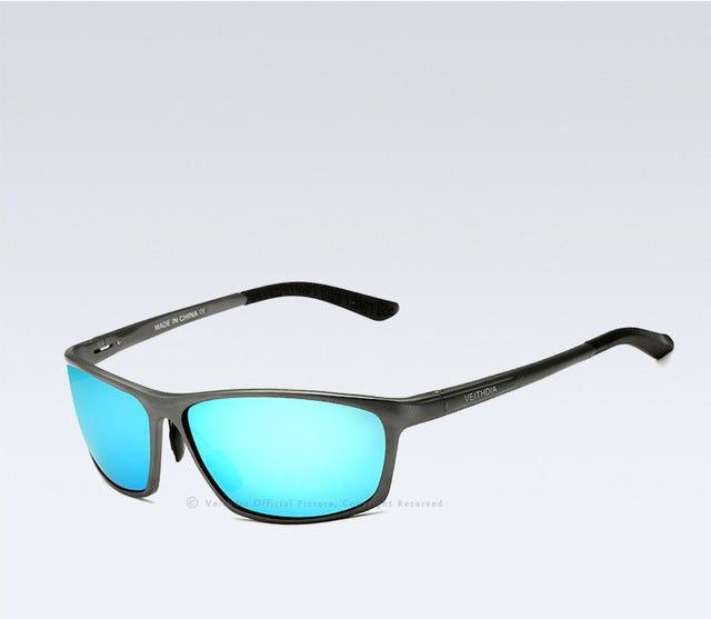 VEITHDIA Brand Designrt Polarized Aluminum Magnesium Men's Sun glasses Male Sunglasses Mirror Eyewear Accessories For Men 6520