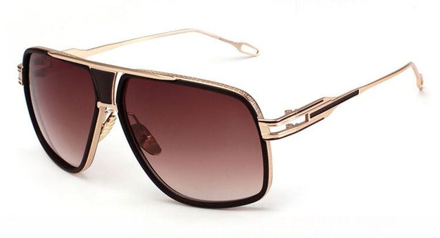 Fashion Star Style Sunglasses Men Brand Designer Vintage Retro Women Sun Glasses Metal Frame Gafas Oculos De Sol R279