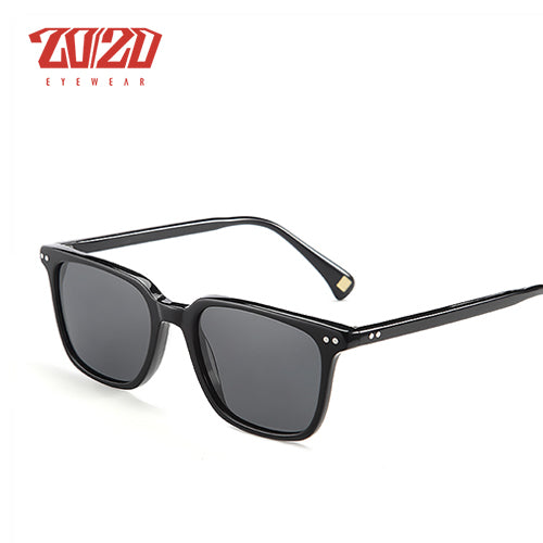 20/20 Brand Classic Polarized Sunglasses Men Women Acetate Unisex Sun Glasses for Man Driving Eyewear Oculos AT8037
